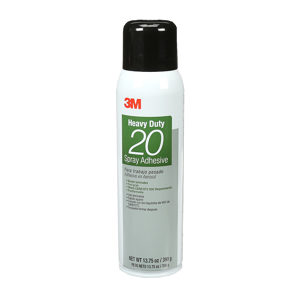 3M Series 20 Aerosol Spray Adhesive - Wood and Furniture