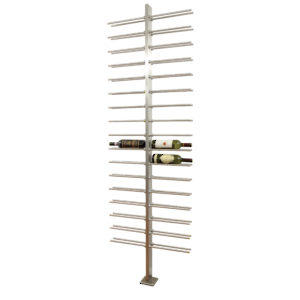 Wine Bottle Holder with Central Division