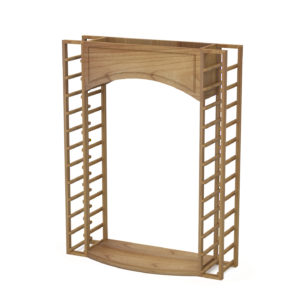 Display Arch with Standard Racks