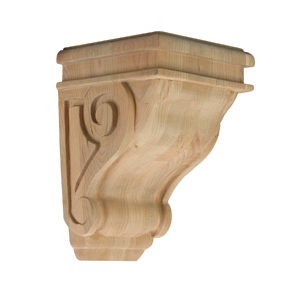 Traditional Scroll Corbel - N°223