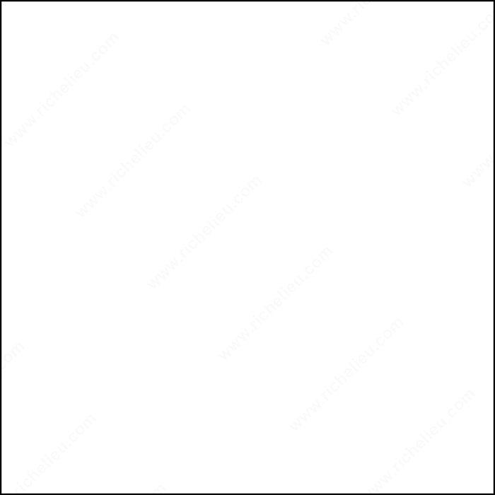 Edgebanding - Melamine - White, 250GR - Boiseries Lussier