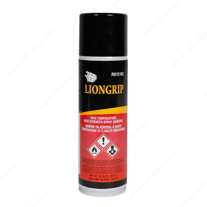 High-Temperature, High-Strength Adhesive Spray - LIONGRIP