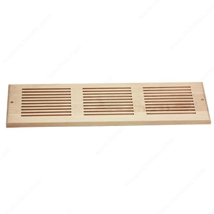 grille de ventilation murale bois boiseries lussier. Black Bedroom Furniture Sets. Home Design Ideas