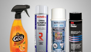 Maintenance, Cleaning and Packaging Products