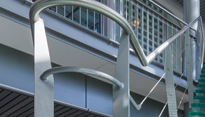 Surface Handrails with Components